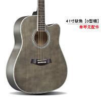 民谣吉他电箱琴40寸41寸初学者新手练习男女入门学生木吉它乐器a282