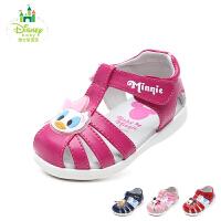 迪士尼Disney童鞋2018新款婴幼童宝宝鞋萌趣时尚婴童凉鞋包头护趾宝宝学步鞋(0-4岁可选) DH0332