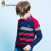【3折价:98.7元】暇步士童装春季新款男童线衣时尚条纹针织衫儿童针织衫线衣