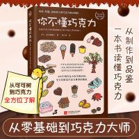 你不懂巧克力(日)香川理馨子 黄少安译 官方书籍 生活饮食书籍 巧克力的秘密 巧克力的大揭秘 健康生活休闲书
