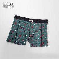 海一家印花平角内裤男短裤2018夏季新品