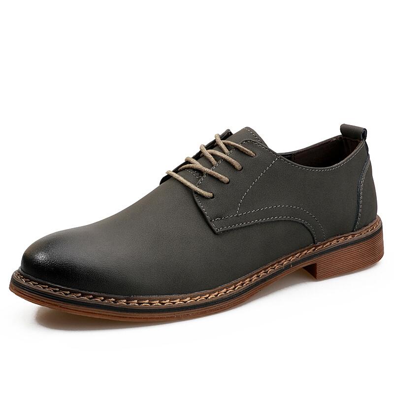 秋冬季皮鞋男士保暖低帮棉鞋商务休闲鞋英伦韩版马丁鞋潮流男鞋子