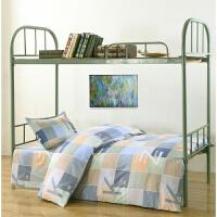 学生宿舍单人三件套 被套+床单+枕套上下铺被罩1.5米床上用品