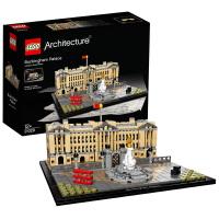 LEGO乐高建筑系列白金汉宫21029积木12岁+