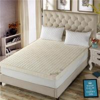加厚海�d床�|20cm�p人家用�W生宿舍���棉床褥床�|子夏季保暖折�B