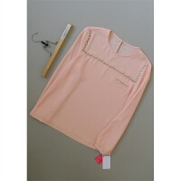 嘉[A78-229]专柜品牌正品新款女士打底衫女装雪纺衫0.16KG