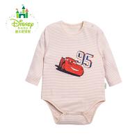 迪士尼Disney 新生儿衣服婴儿包屁衣宝宝长袖纯棉153B618