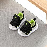 春秋款宝宝鞋子男1-3岁软底学步鞋男小童休闲运动鞋女童毛毛虫鞋2