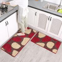 ???厨房地垫家用床边长条地垫地毯定制卧室脚垫厨房地毯 45*80+(优惠套装)