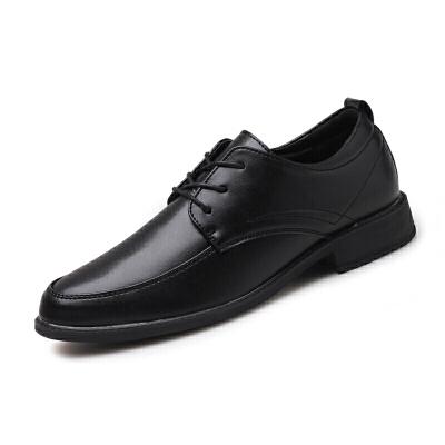 2018秋季男鞋英伦风男士增高皮鞋透气商务休闲鞋正装潮男鞋子