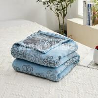 三层纱布毛巾被毯单双人亲肤透气不掉色夏凉被空调被盖毯