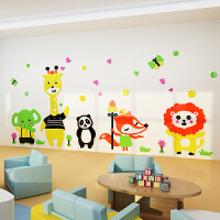 儿童房幼儿园墙面装饰3D立体卡通卧室亚克力墙贴墙壁贴画贴纸自粘 超