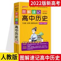 2020版第7次修订 PASS绿卡图书图解速记高中历史人教版RJ版 必修+选修全彩版 含新高考真题赠高中历史大事年表手