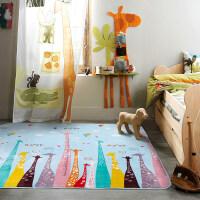 家用儿童防滑加厚客厅地垫卧室宝宝爬行垫爬爬垫卡通游戏毯家居垫