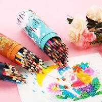晨光文具彩色铅笔套装油性绘画画笔成人手绘彩铅笔套装学生填色铅笔幼儿园美术用品24色36色48色 AWP34351