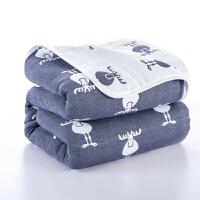六层纱布毛巾被纯棉单双人儿童毛毯被子沙发毯午睡毯空调毯盖毯 200x230cm 双人被