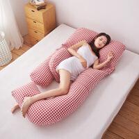 孕妇枕头护腰侧睡枕侧卧靠枕u型枕 多功能托腹睡觉抱枕用品/