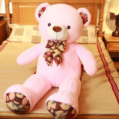 泰迪熊公仔布娃娃玩偶抱抱熊毛绒玩具送女友爱人礼物