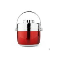 手提不锈钢保温提锅饭盒双层便当盒分格学生2层保温桶汤