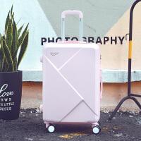 行李箱女拉杆箱旅行箱子母皮箱20学生密码箱万向轮24寸 可爱粉 20寸