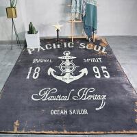 地毯客厅沙发地垫茶几垫 北欧工业风卧室房间床边毯长方形家用 171120