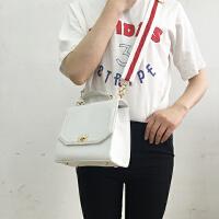 韩国方形立体搭扣斜挎包休闲单肩简约复古女包英伦风手提包包方包