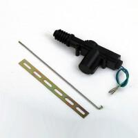 12V通用 二线中控锁 DIY改装尾箱马达 中控锁 汽车中控