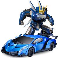 金刚机器人充电动遥控车男孩玩具车儿童电动玩具感应变形遥控汽车