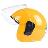 摩托车头盔小孩子儿童头盔卡通防晒帽男女夏季半盔 均码