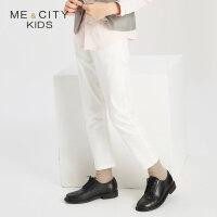 【1件3折到手价:59.97】米喜迪mecity童装秋装新款男童基本弹力牛仔长裤