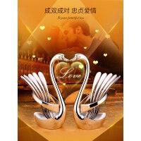 【支持礼品卡】水果叉304不锈钢套装创意可爱欧式家用水果签果插儿童甜品小叉子 iw2