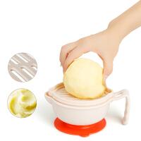 婴儿辅食研磨器套装 宝宝多功能手动食物料理果泥研磨工具bl6