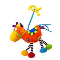 LALABABY/拉拉布书 快乐小马 新生儿床挂 婴儿床床铃0-1岁宝宝床头玩具推车挂件