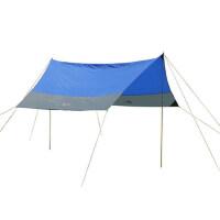 户外440x340cm大天幕 遮阳沙滩挡雨 简易休息篷