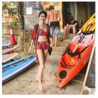 装女新款体泳衣三件套阳光海滩时尚小胸钢托聚拢平角分