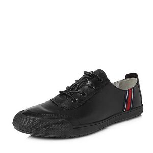 Teenmix/天美意2018夏专柜同款软面牛皮舒适平跟男休闲鞋BQJ01BM8