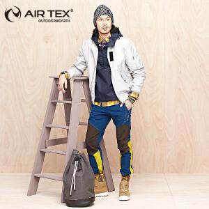 AIRTEX/亚特软壳冲锋裤男士秋冬防水滑雪裤户外新款男