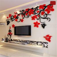 亚克力3d立体墙贴画客厅沙发卧室电视背景墙壁室内房间温馨装饰品 超