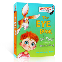 幼儿英语启蒙The Eye Book 英文纸板书 Bright and Early Board 原版进口 经典童书