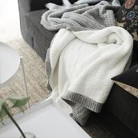 绒毯单人双层毛毯加厚羊羔绒毯子冬季厚毯子纯色北欧针织沙发毯 浅灰色 130x160cm(双层更暖)