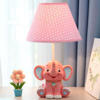 小女孩儿童台灯创意卡通床头台灯可爱卧室台灯女生礼物LED可调光