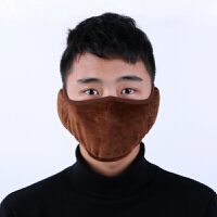 冬季保暖口罩女加厚防寒骑行防风护耳防尘口罩韩版男潮时尚黑色可爱个性口耳罩防雾霾PM口罩纯棉口罩