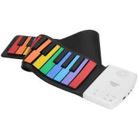 男女孩多功能充电音乐玩具 电子琴儿童手卷钢琴初学者入门