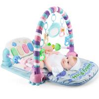 【支持*】脚踏琴钢琴音乐健身架婴儿0-1岁男女宝宝益智游戏毯玩具5lh