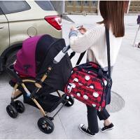 多功能防水时尚妈咪包 单双肩斜挎手提待产外出旅行大容量母婴包
