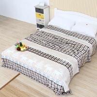 冬季毛毯珊瑚绒毯子双人加厚床单单人薄被子学生宿舍法兰绒午睡毯