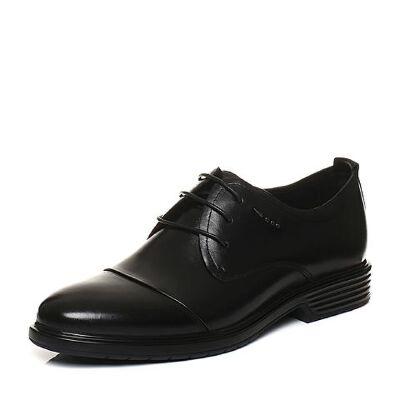 Belle/百丽2018春季新品牛皮商务正装男皮鞋婚鞋03661AM8
