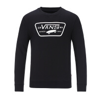 Vans范斯 男子运动休闲卫衣套头衫 VN0A33UYBLK/VN0A33UYWHT