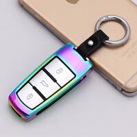 适用于大众新款CC钥匙包 智能遥控 R36 B7L B6 迈腾钥匙壳套扣