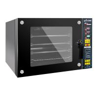 2018新款 商用风炉烤箱家用烘焙四层电烤箱热风蒸汽大容量电烤箱60L